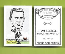 Newcastle United Tom Russell 22 (FC)